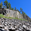 Here you go - Devils Postpile - a nice basalt formation