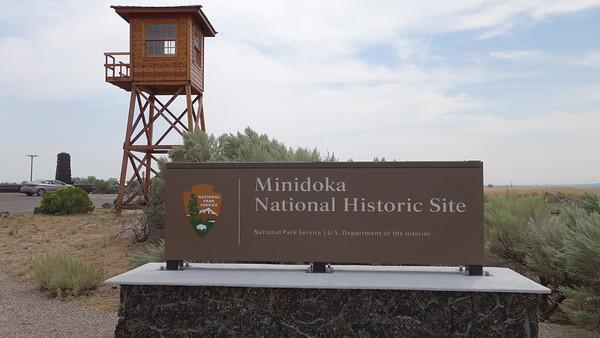 Minidoka National Historic Site - ID - 082415
